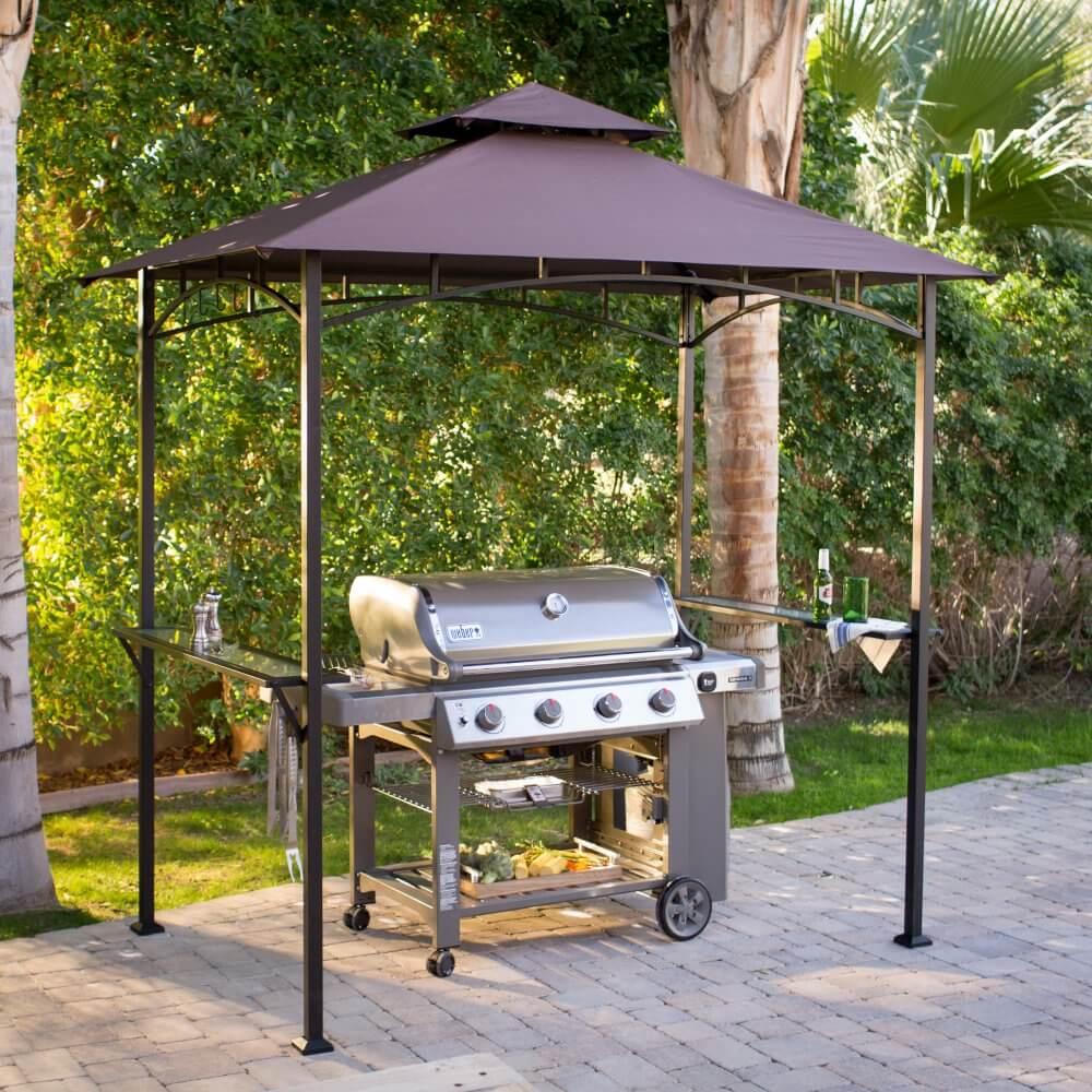 soft top grill gazebo