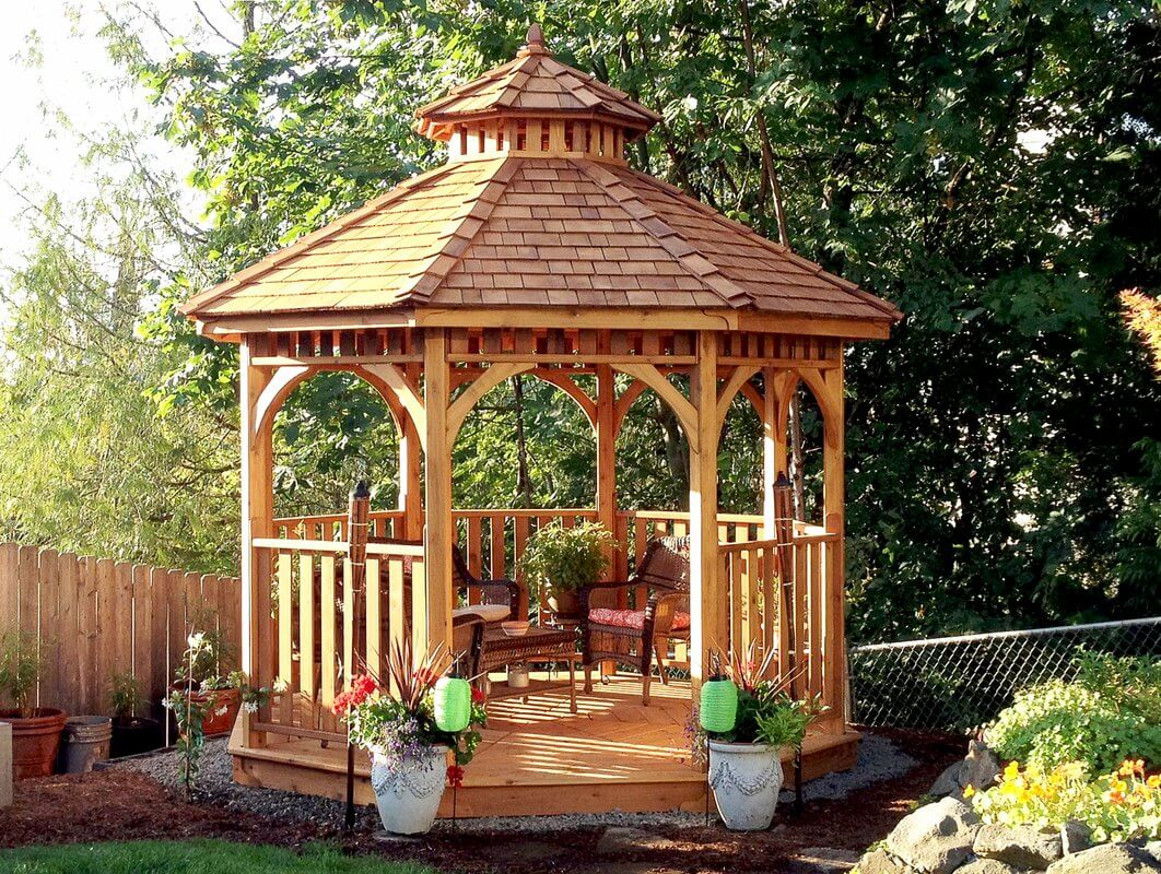 traditional 10 by 10 gazebo kit