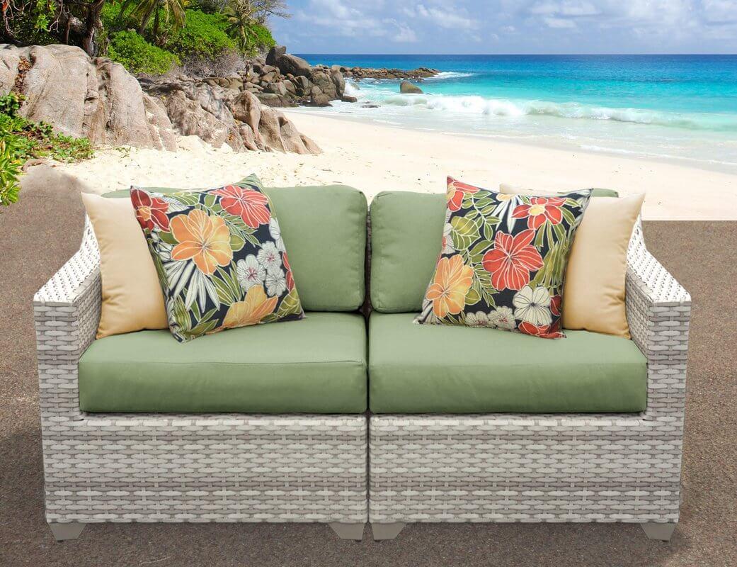 Tropics Inspired Outdoor Sofa