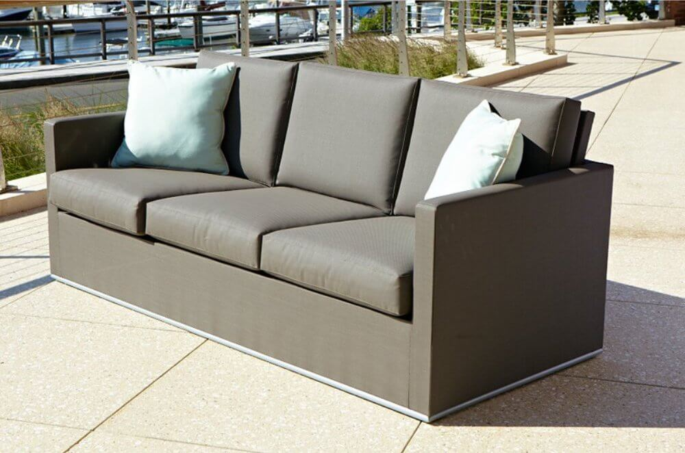 Upholstered Outdoor Sofa