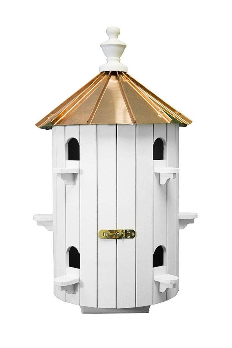 10-Hole Amish Birdhouse