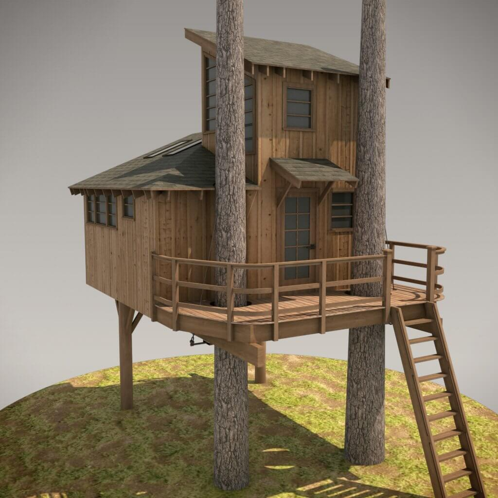 Advanced Nookhouse Tree House Plans