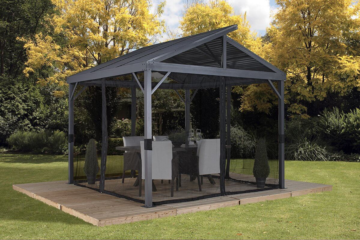 aluminum patio gazebo