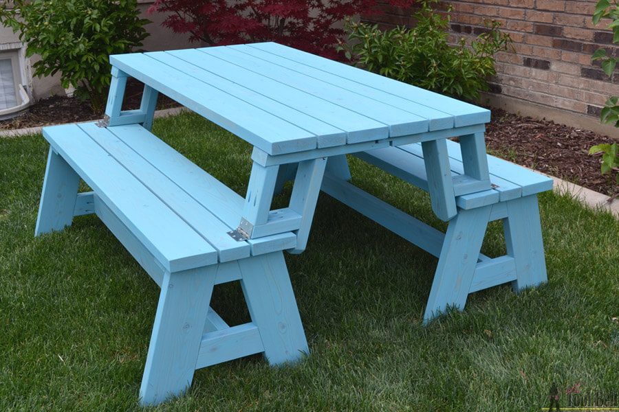 Incredible Picnic Table Plans Insteading Theyellowbook Wood Chair Design Ideas Theyellowbookinfo