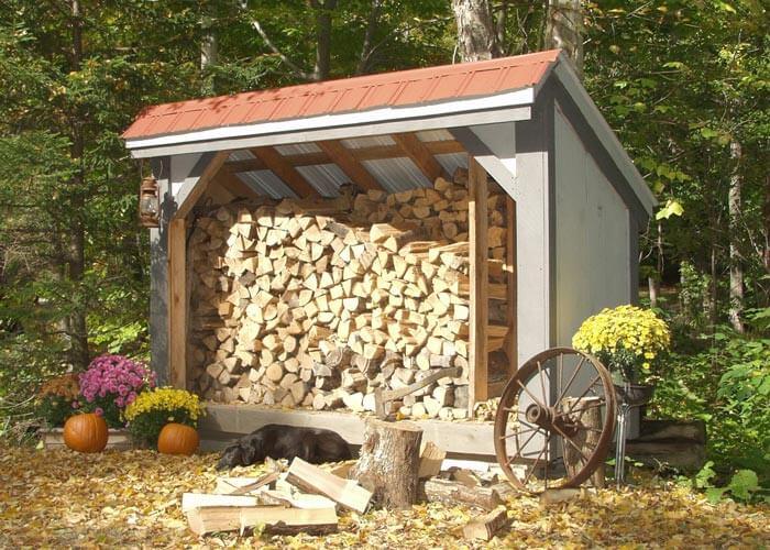 Firewood Storage – 30 Sheds, Racks, And Shelves