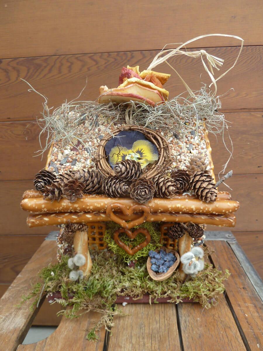 Edible Birdhouse