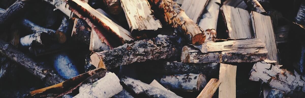 firewood in pile