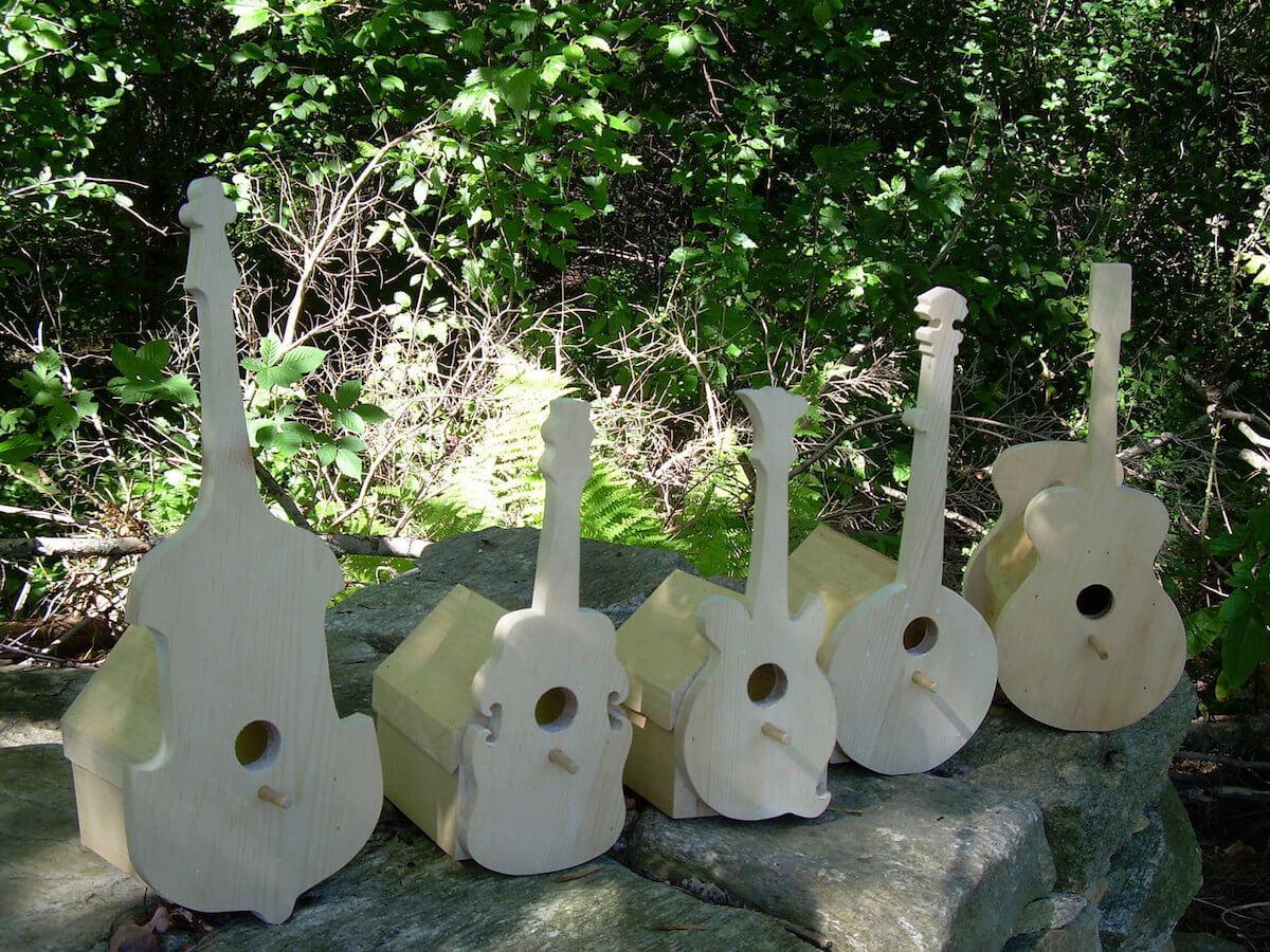 Instrument Birdhouse