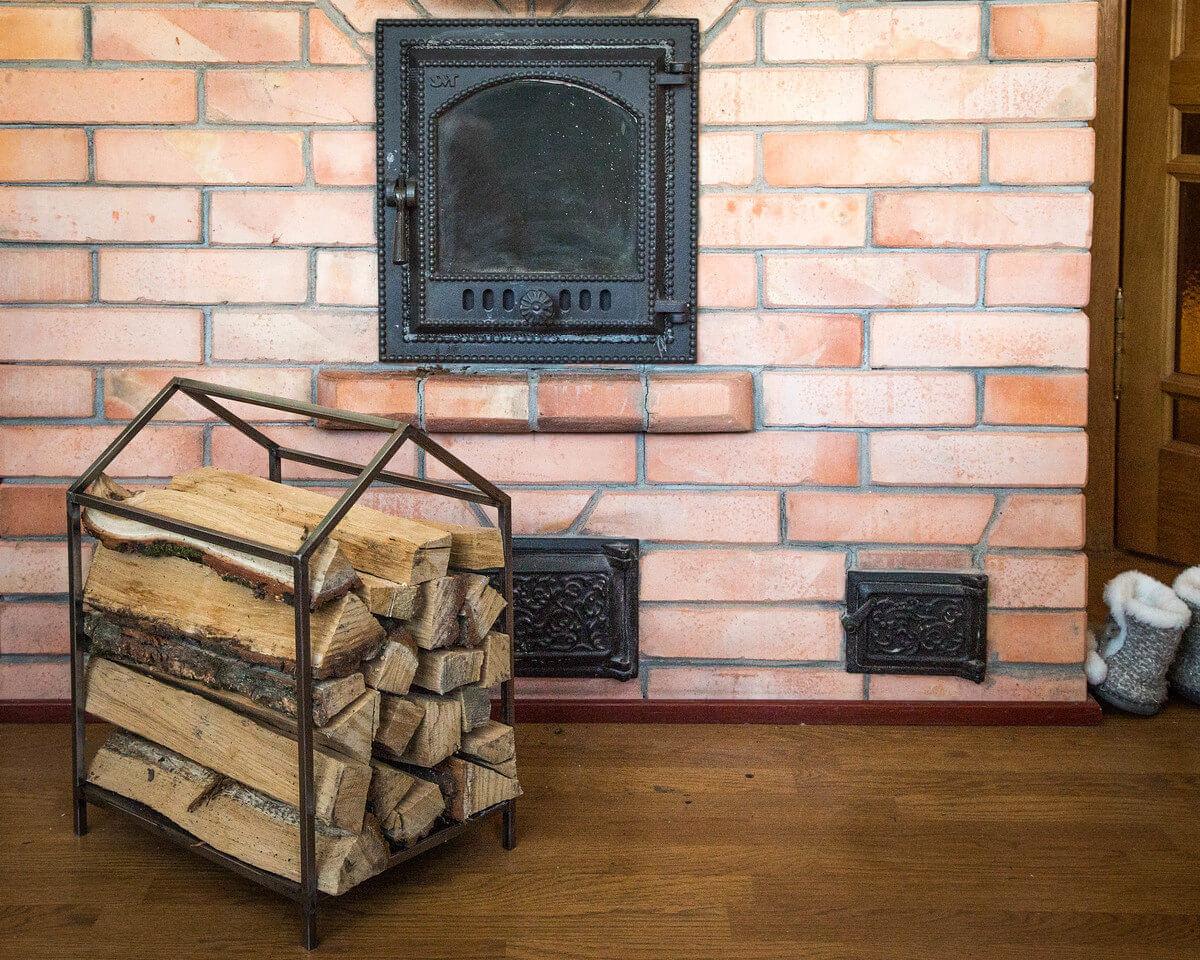 Iron House Log Storage