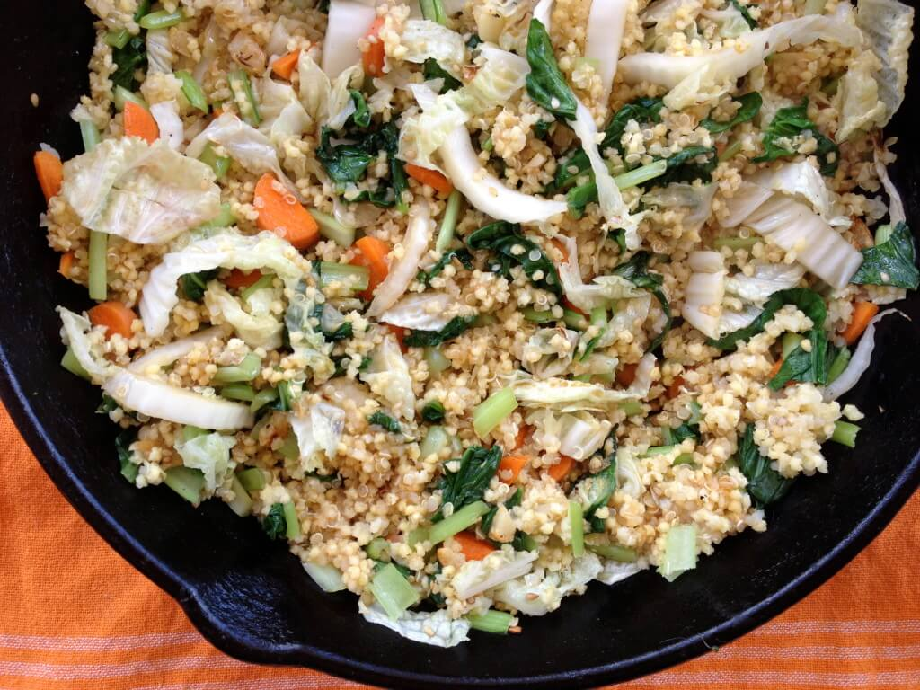 millet fried rice healthy grains