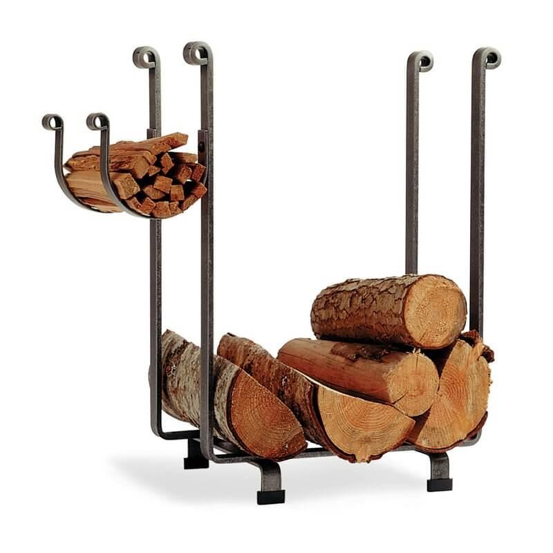 Multi-Leveled Log Rack