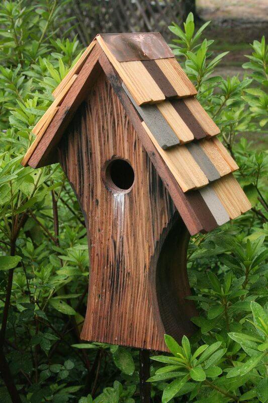 Old English Bird House