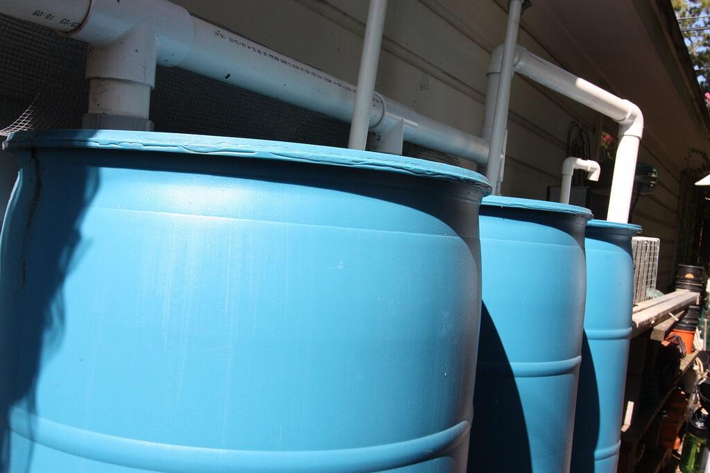 rainwater harvesting barrels