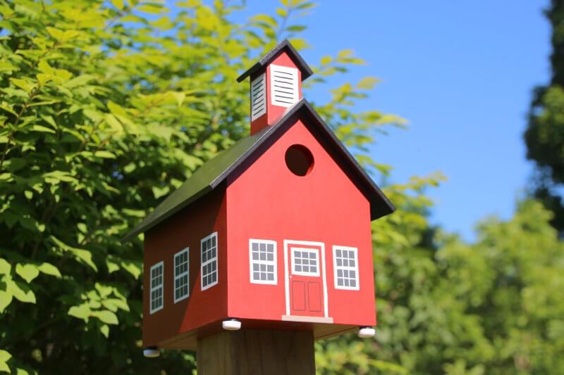 School House Bird House