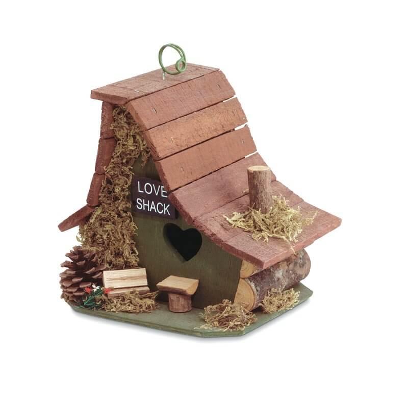 Small Wood Bird House