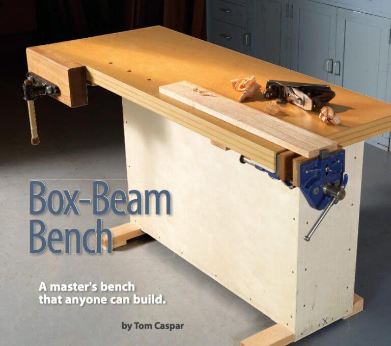Box-Beam Workbench Plans