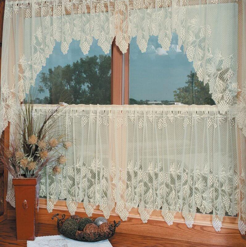 Champlain Tier Kitchen Curtains
