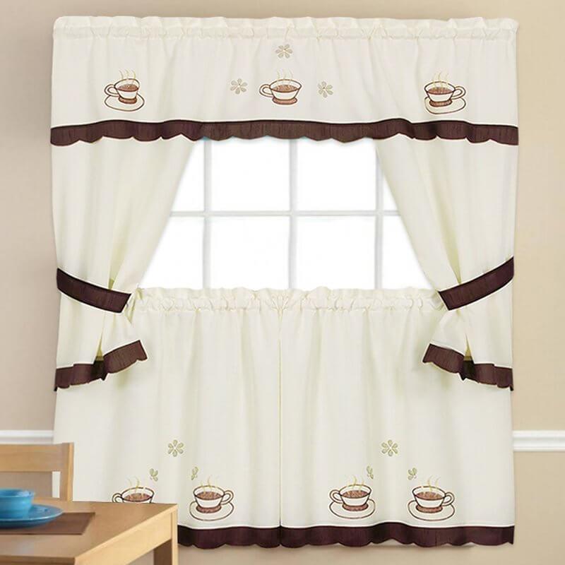Coffee Nook Kitchen Curtains