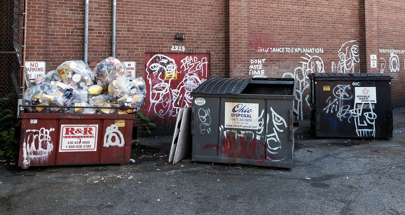 dumpsters