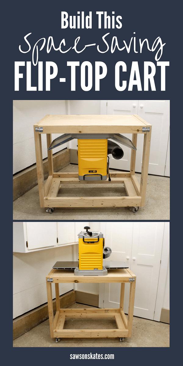 Flip Top Workbench Plans