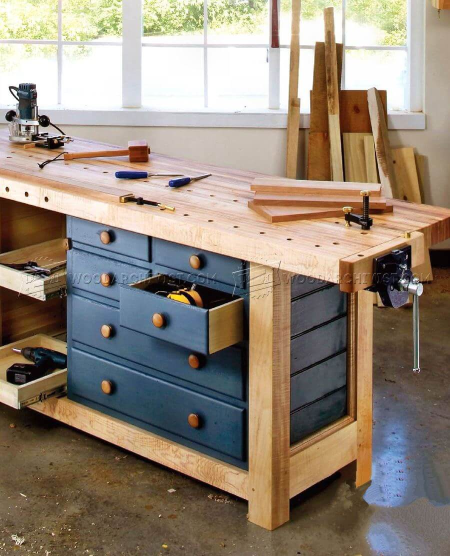 Workbench Plans • Insteading