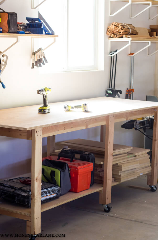 Two-Hour Workbench Plans