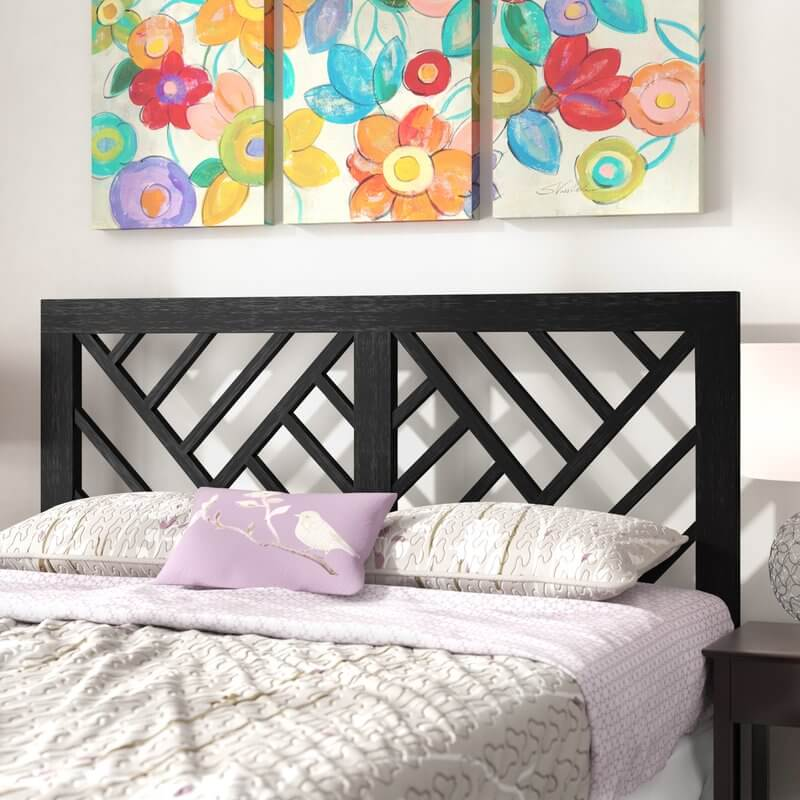 Contemporary Cut Out Headboard