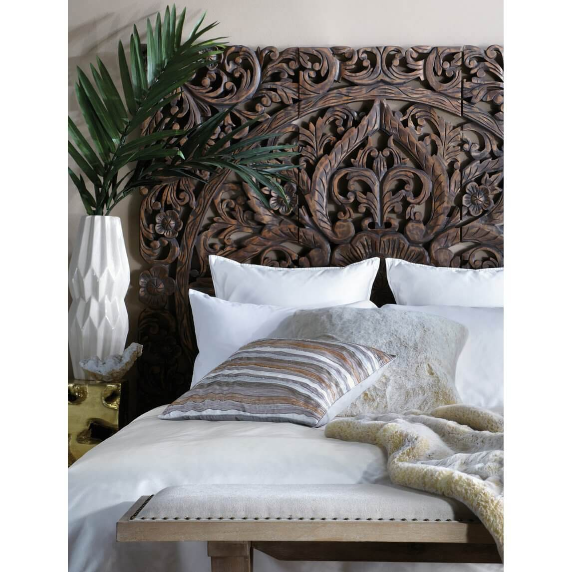 Hand Carved Headboard