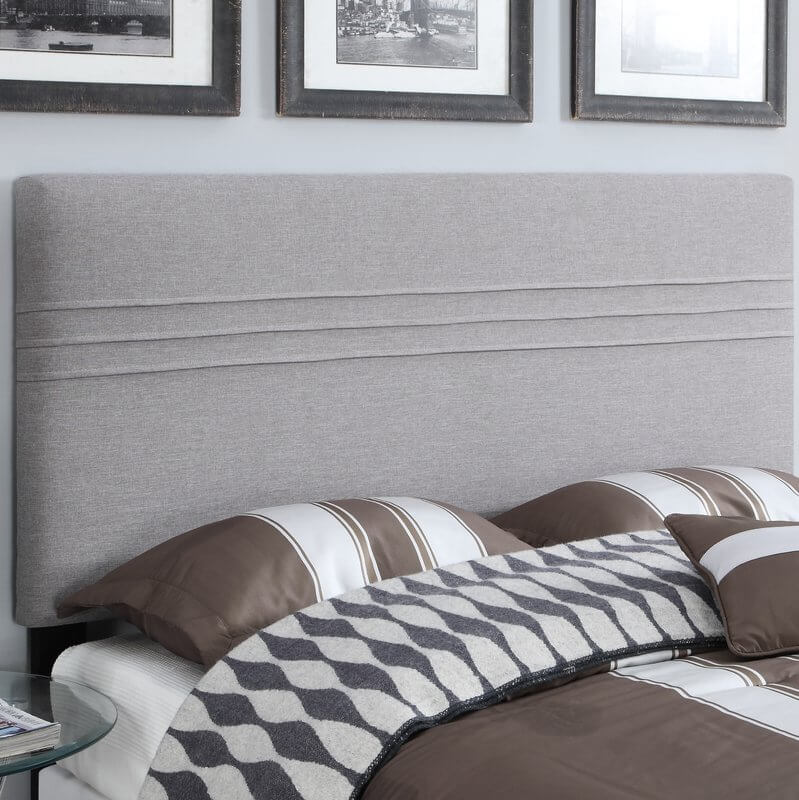 Minimalist Upholstered Panel Headboard