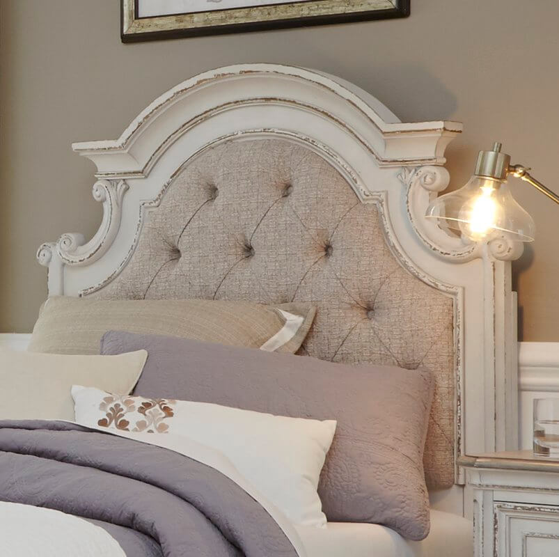 Shabby Chic Panel Headboard