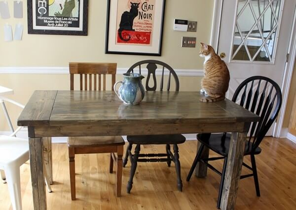 Small Farmhouse Table Plans
