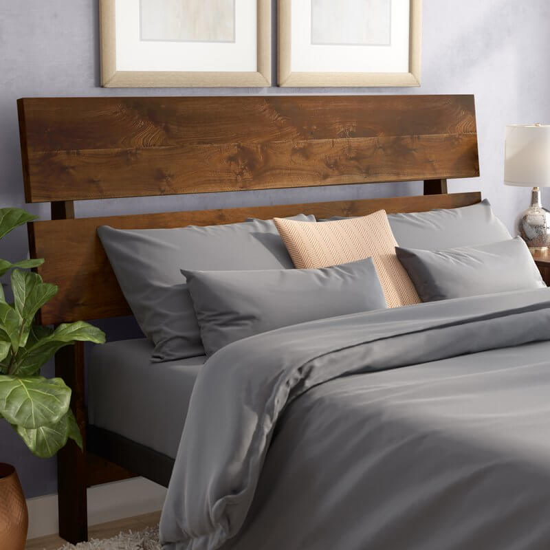 Wood Slat Headboard
