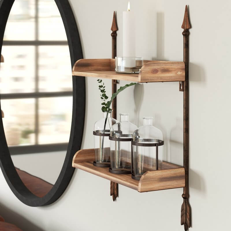 Arrow Kitchen Shelves
