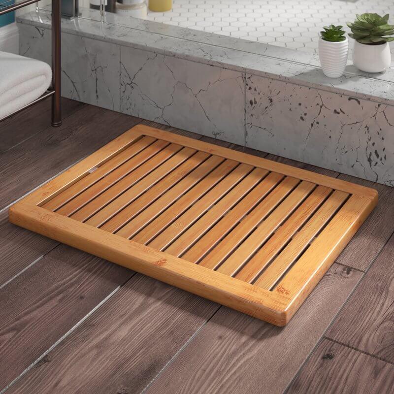 Bamboo Bathroom Mat