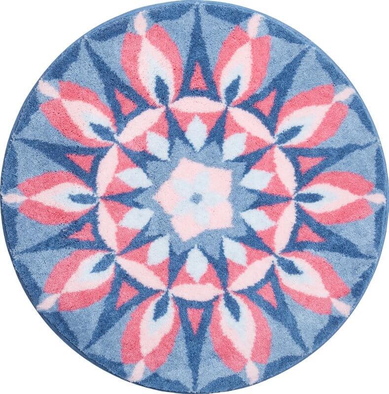 Colorful Mandala Bathroom Rug