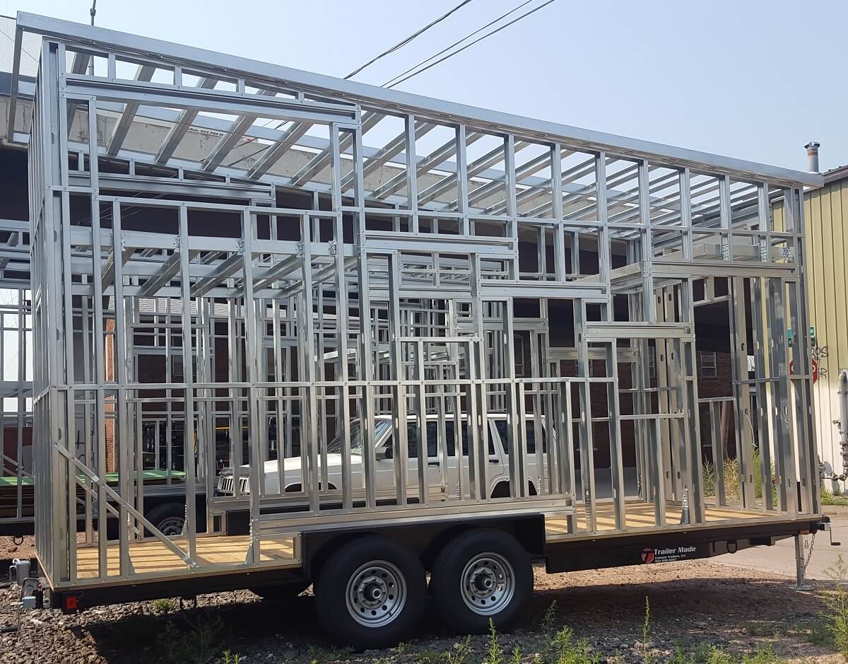 custom steel frame