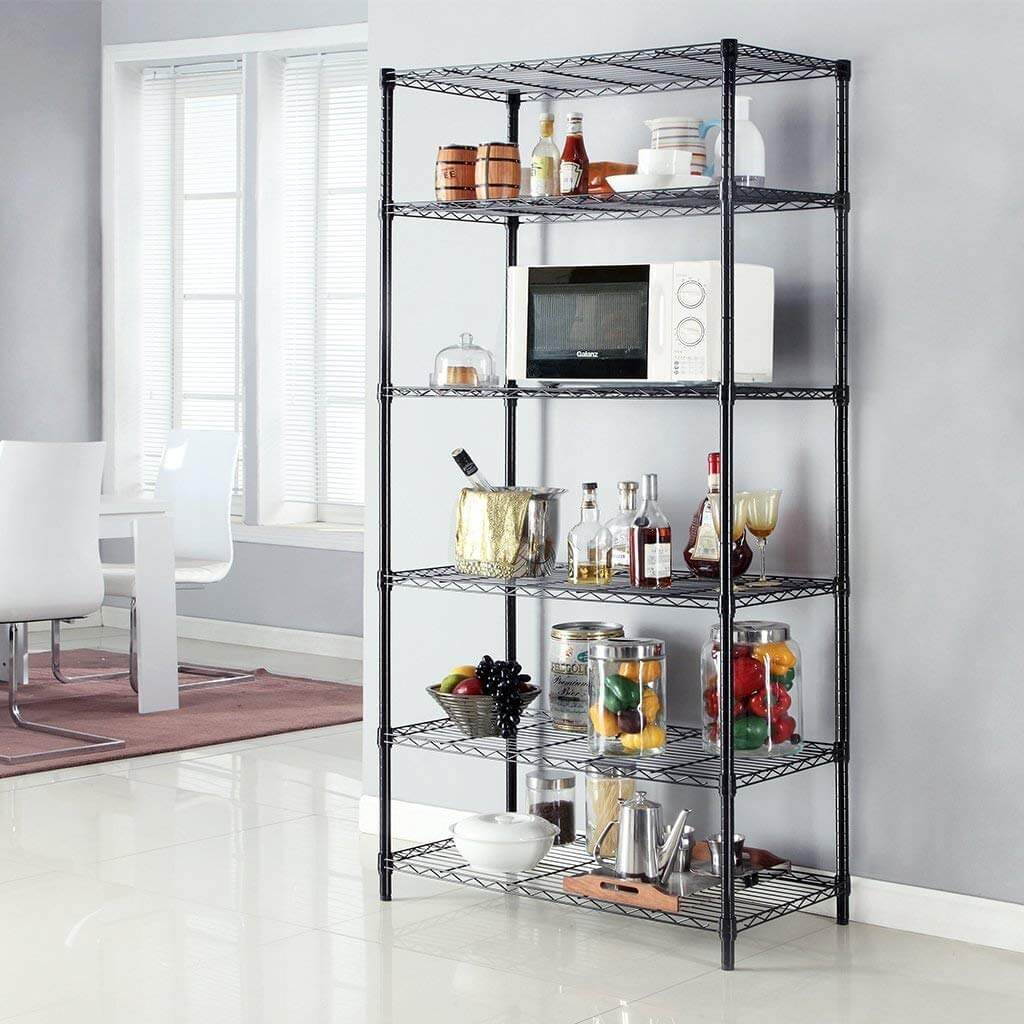 Heavy Duty Kitchen Shelves