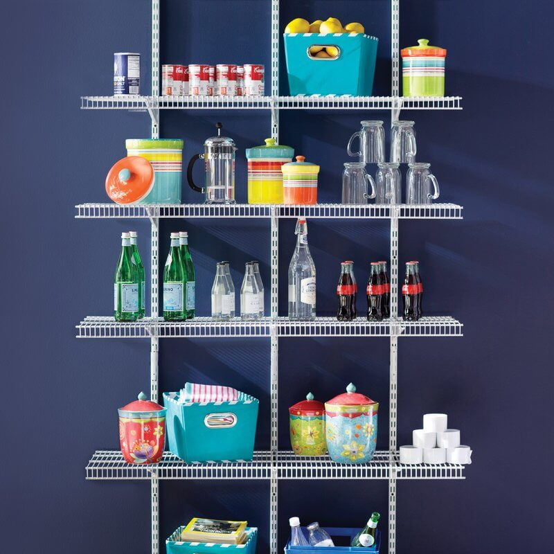 Pantry Wall Shelf