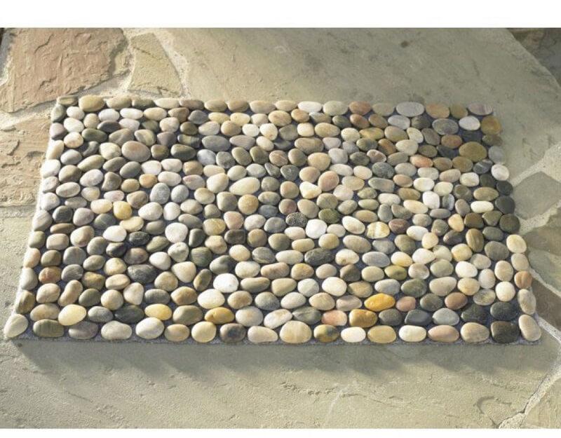 River Stone Bathroom Rug