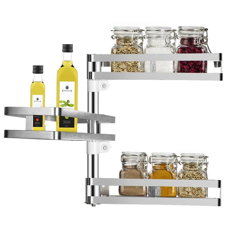 Rotatable Kitchen Shelves