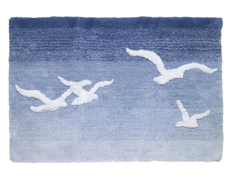 Seagull Bathroom Rug