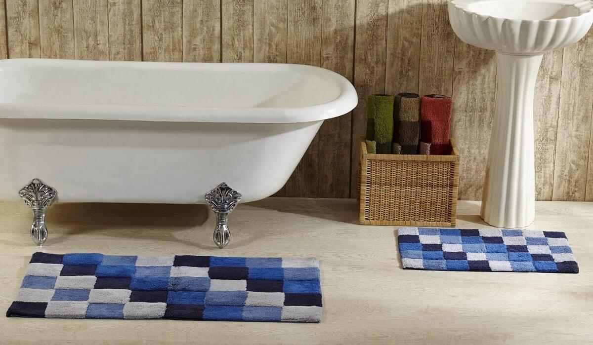 Tile Bathroom Rug