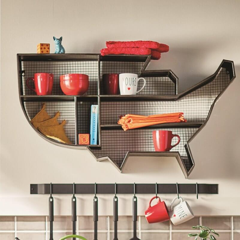 United States Accent Shelf