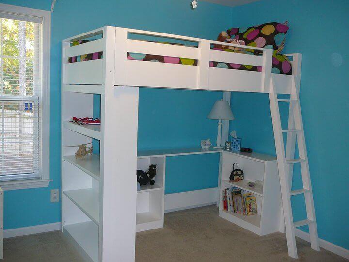bookworm loft bed plans