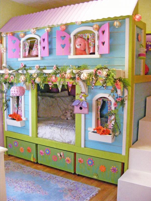 princess bunk bed