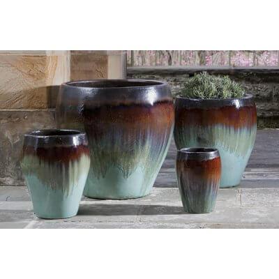 4-Piece Terracotta Planter Set