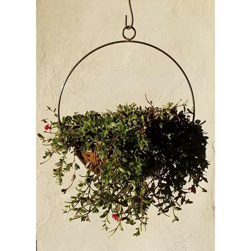 Handmade Circular Large Hanging Planter