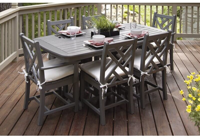 Geometric Patio Dining Set