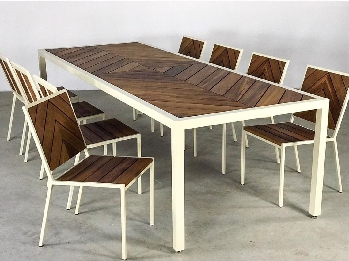 Indoor Outdoor Teak Wood Dining Set