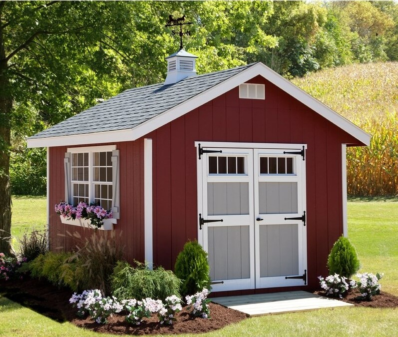 10' x 12' Homestead Storage Shed